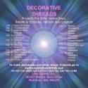 Serger Decorative Threads