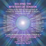 Solving the Mystery of Tension