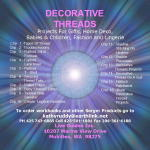 Serger Decorative Threads