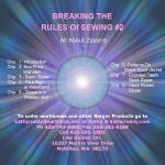 Breaking the Rules of Sewing #2