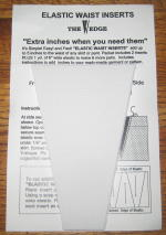 Elastic Waist Insert Kit -White 1 Set