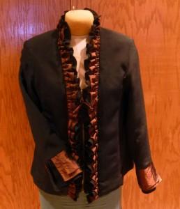 Copper Ruffle Jacket
