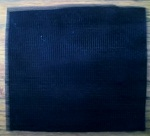 Textured Black Weft Interfacing