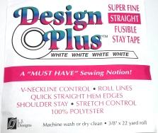 White Straight Tape Design Plus