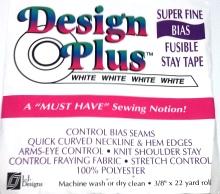 White Bias Tape Design Plus